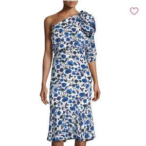 Saloni Juliet Flounce Dress 4 NEW